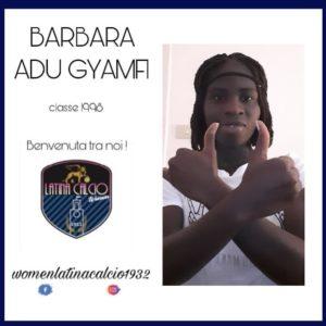 Women Latina Calcio sign Ghanaian midfielder Barbara Adu Gyamfi