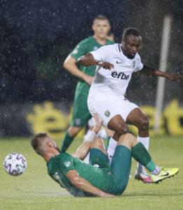 Bernard Tekpetey helps PFK Ludogorets Razgrad secure victory with an assist