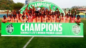 Simba Sports Club women's side crowned champions