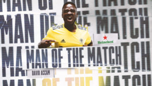 Nashville SC striker David Accam adjudged MOTM in win over FC Dallas