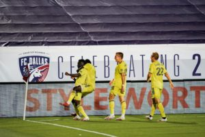 VIDEO: David Accam's lone strike helps Nashville SC seal first MLS victory over FC Dallas