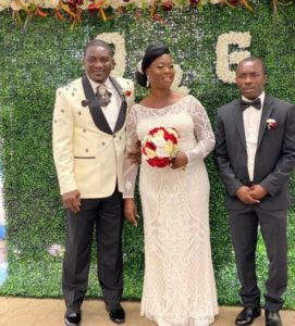 Former Kotoko & Hearts ace Emmanuel Osei Kuffour marries in US