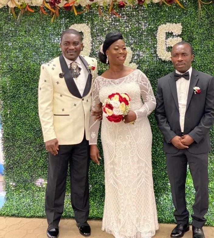 Former Kotoko & Hearts ace Emmanuel Osei Kuffour marries in US