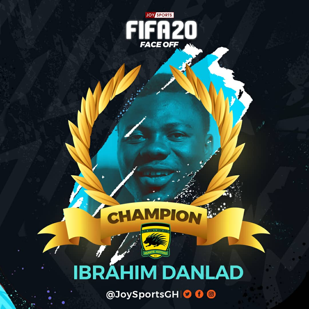 Ibrahim Danlad defeats Richard Attah in Joy Sports FIFA FaceOff