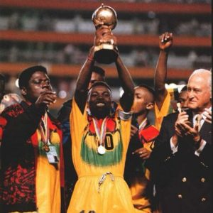 FIFA celebrates Ghana for 1995 U-17 World Cup triumph