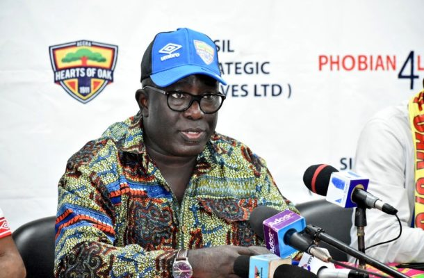We are ready for the return of football - Hearts of Oak MD Frederick Moore