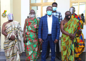 Chiefs from Akuapem Traditional Area call on GFA President