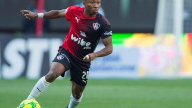 Clifford Aboagye features for Club Tijuana in 4-0 defeat to Club America