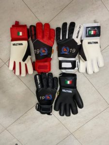 Bright Addae Foundation sells customized goalkeepers gloves to generate revenue