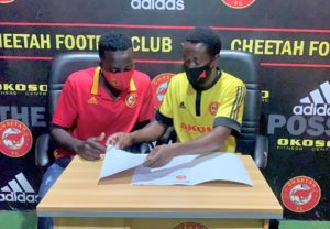 Cheetah FC announce signing of defender Abdulai Slimba
