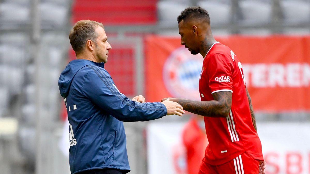 Jerome Boateng returns to Bayern Munich training