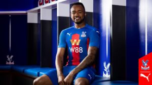 VIDEO: Jordan Ayew models in Crystal Palace new kits for 2020/21 season