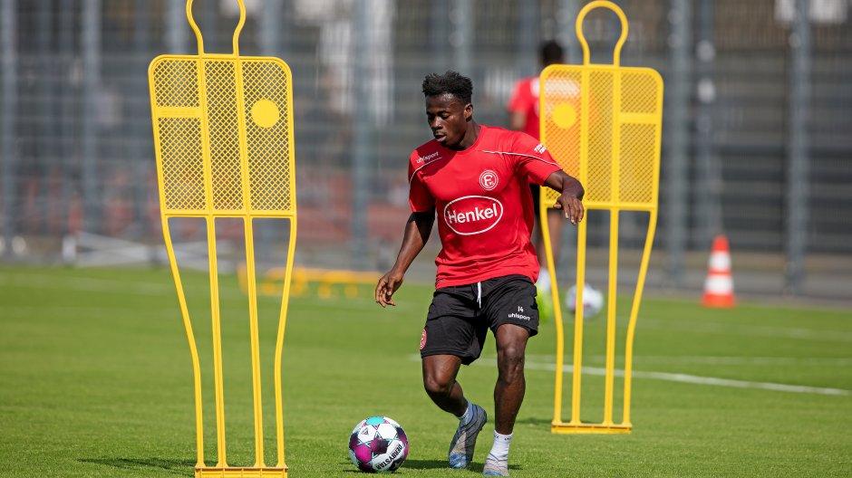 Ghanaian winger Kelvin Ofori starts pre-season training at Fortuna Düsseldorf