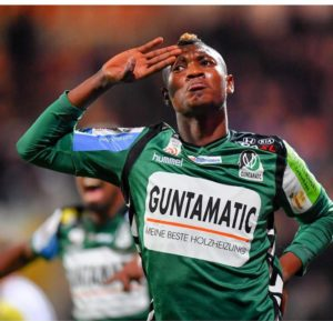 Ghanaian defender Kennedy Boateng ready to help SV Ried stay in Bundesliga after promotion