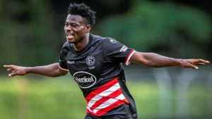 Kelvin Ofori facing strong competition from Düsseldorf attacking teammates