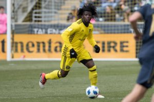 Lalas Abubakar: Colorado Rapids defender vows to continue working hard to earn Black Stars invite