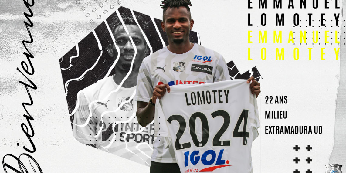 OFFICIAL: Emmanuel Lomotey signs for French side Amiens