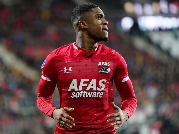 Myron Boadu receives low rating after the game against Sparta Rotterdam