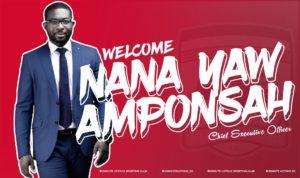 Nana Yaw Amponsah dreams big; says he will make sure Kotoko plays FIFA Club WC