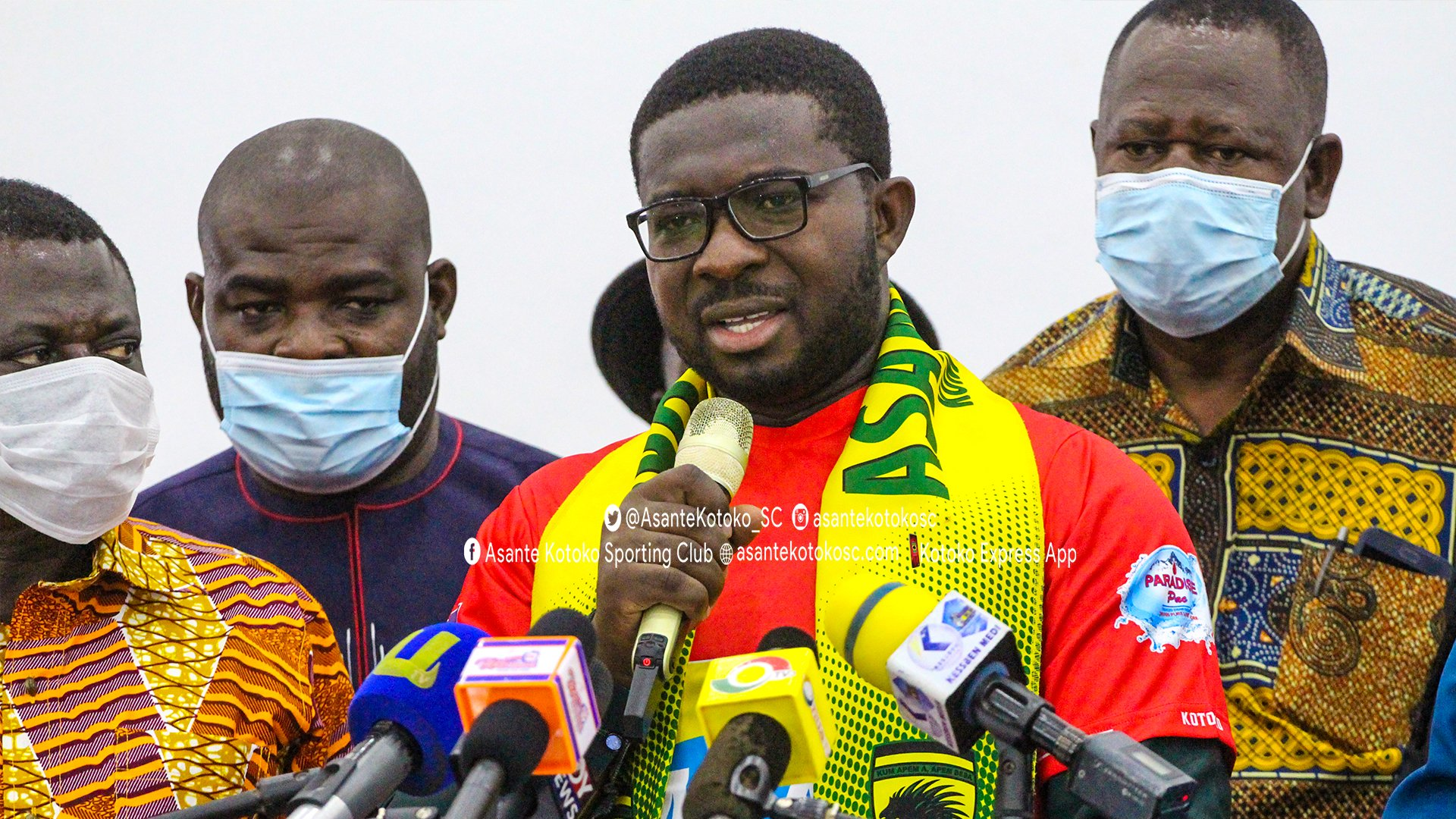 Asante Kotoko to hold talks with cooperate bodies for sponsorship
