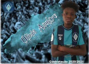 Portuguese side Grupo Desportivo Cultural A-dos-Francos sign Ghana's Olivia Anokye