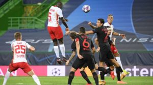 Thomas Partey watches from the bench as Leipzig boot out Atl. Madrid from UCL