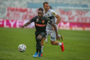 Ghanaian winger Seth Paintsil part ways with FC Admira Wacker Mödling
