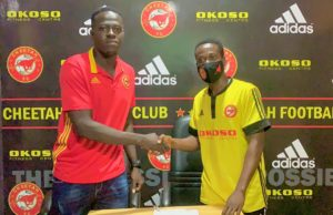 I will work hard to achieve my goals - New Cheetah FC signing Abdulai Slimba
