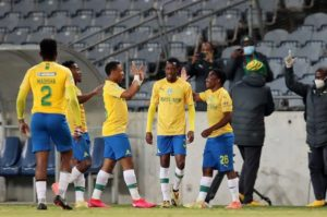 Mamelodi Sundowns progress to Cup final as football returns in South Africa after four-month hiatus