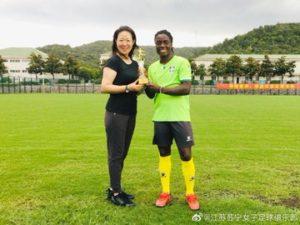 Malawi forward Tabitha Chawinga named Women's Player of the Year in China