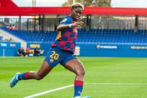 Asisat Oshoala: Winning over her family and joining Barcelona Femení