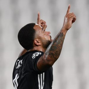 Depay makes history after scoring to help Lyon advance to UCL quarter-finals