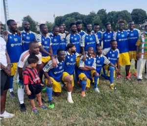 Ahmed Barusso organizes games to help Ghanaians in Italy