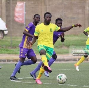 Ex-Ebusua Dwarfs midfielder Stephen Bentil joins Ashanti Gold SC
