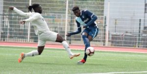 Ghana's Godwin Bentil on target as Le Havre draw 1-1 against Quevilly Rouen
