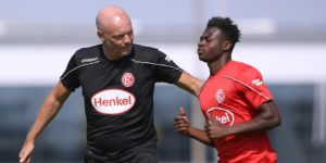 Fortuna Düsseldorf manager Uwe Rösler predicts bright future for Kelvin Ofori