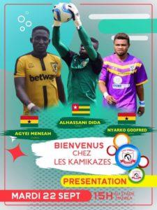 AS Simba Kolwezi signs three ex Ghana Premier League players