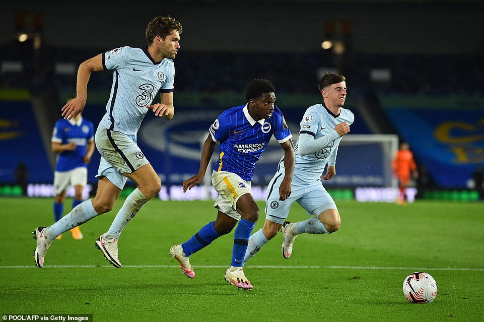 Brighton is the best club for Lamptey