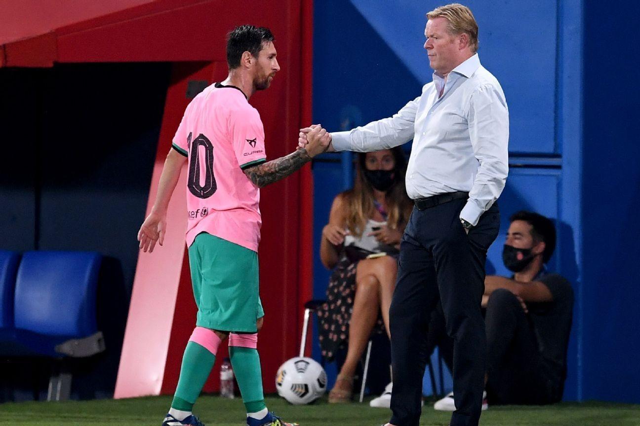 Messi, Coutinho score in Barcelona friendly win