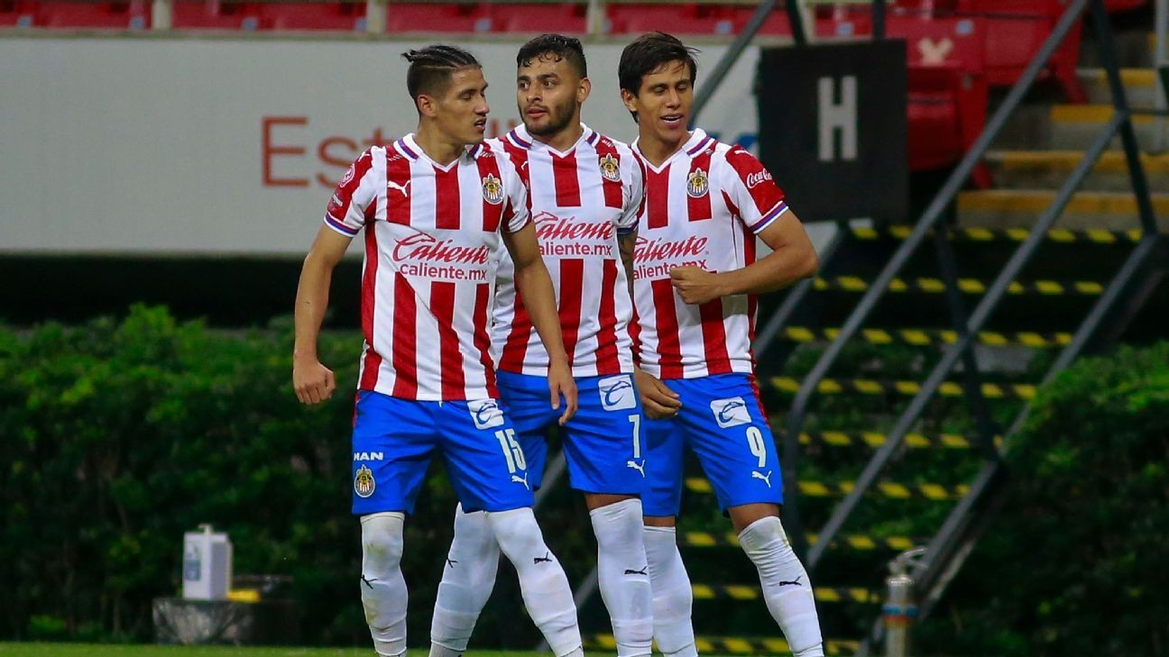 Chivas, America stars called up for Mexico squad