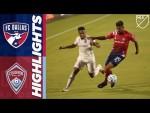 FC Dallas vs. Colorado Rapids   September 16, 2020   MLS Highlights