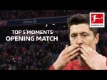 Best Moments Bundesliga Opening Matches - Lewandowski Record, Latest Winning Goal and More