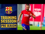 PJANIC'S FIRST TRAINING SESSION WITH THE TEAM