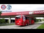 LIVE 🔴 Ankunft in der Allianz Arena |FC Bayern - Schalke 04