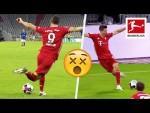 Robert Lewandowski Pulls Off Outrageous Rabona Assist