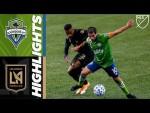 Seattle Sounders FC vs. LAFC | September 18, 2020 | MLS Highlights