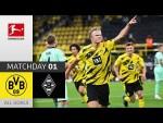 Borussia Dortmund - Borussia M'gladbach 3-0 | All Goals | Matchday 1 – Bundesliga 2020/21