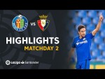 Highlights Getafe CF vs CA Osasuna (1-0)