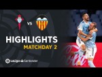 Highlights RC Celta vs Valencia CF (2-1)
