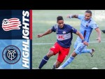 New England Revolution vs. New York City FC | September 19, 2020 | MLS Highlights